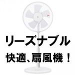 【冷んやり爽快‼】暑い夏におすすめ扇風機!YZ扇風機 YLT-AK301