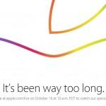 【祭り】新型iPad Yosemiteアップルイベント2014 10/17 午前二時にスタート!