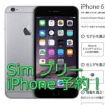 【購入体験記】simフリー iPhone6Plusをネットで予約てみた。