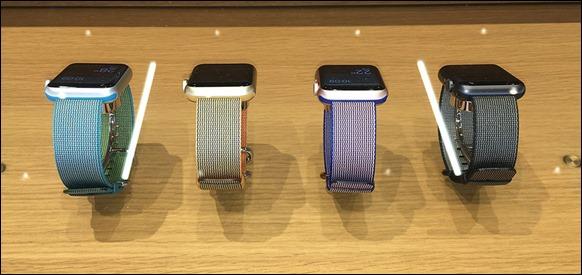 8-woven-nylon-band-scuba-blue-gold-red-royal-blue-black