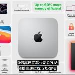 【まとめ】アップル シリコン搭載mac mini(2020)とは?どう違い性能が上がったのか。